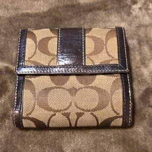 Small Coach Wallet